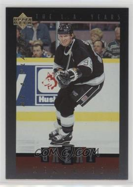 1995-96 Upper Deck Be a Player - Great Memories #GM02 - Wayne Gretzky