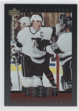1995-96 Upper Deck Be a Player - Great Memories #GM03 - Wayne Gretzky