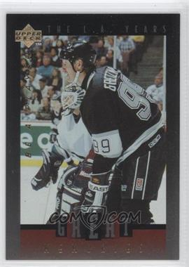 1995-96 Upper Deck Be a Player - Great Memories #GM04 - Wayne Gretzky
