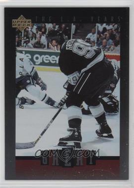 1995-96 Upper Deck Be a Player - Great Memories #GM05 - Wayne Gretzky