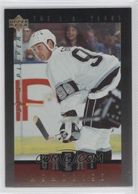 1995-96 Upper Deck Be a Player - Great Memories #GM06 - Wayne Gretzky