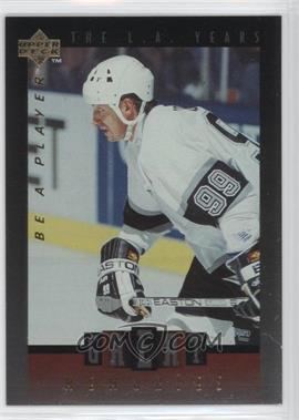 1995-96 Upper Deck Be a Player - Great Memories #GM07 - Wayne Gretzky