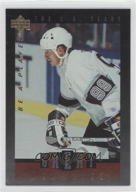 1995-96 Upper Deck Be a Player - Great Memories #GM07 - Wayne Gretzky