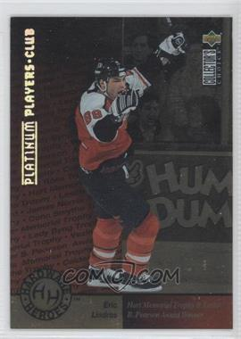 1995-96 Upper Deck Collector's Choice - [Base] - Platinum Player's Club #388 - Eric Lindros