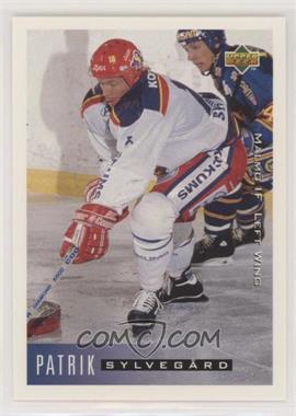 1995-96 Upper Deck Swedish - [Base] #146 - Patrik Sylvegard