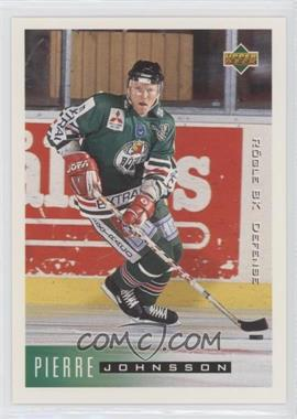 1995-96 Upper Deck Swedish - [Base] #172 - Pierre Johnsson
