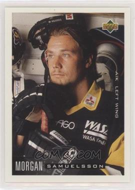 1995-96 Upper Deck Swedish - [Base] #18 - Morgan Samuelsson