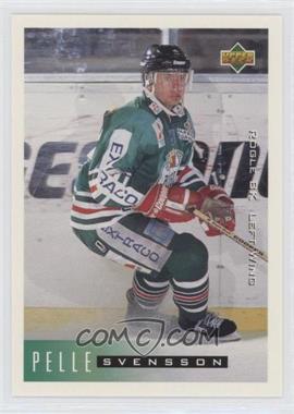 1995-96 Upper Deck Swedish - [Base] #182 - Pelle Svensson