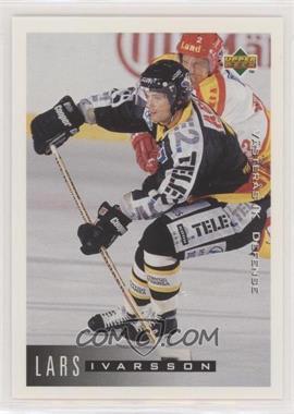 1995-96 Upper Deck Swedish - [Base] #187 - Lars Ivarsson
