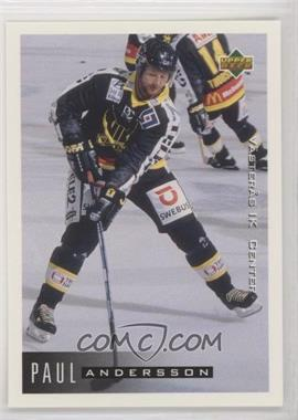 1995-96 Upper Deck Swedish - [Base] #200 - Paul Andersson