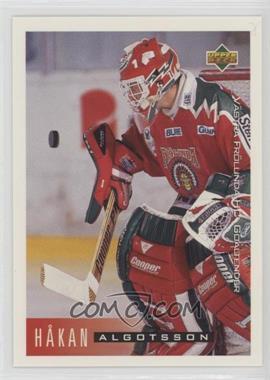 1995-96 Upper Deck Swedish - [Base] #202 - Hakan Algotsson