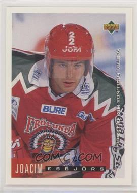 1995-96 Upper Deck Swedish - [Base] #205 - Joacim Esbjors