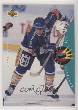 1995-96 Upper Deck Swedish - [Base] #225 - Esa Keskinen