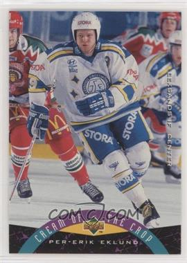 1995-96 Upper Deck Swedish - [Base] #254 - Per-Erik Eklund