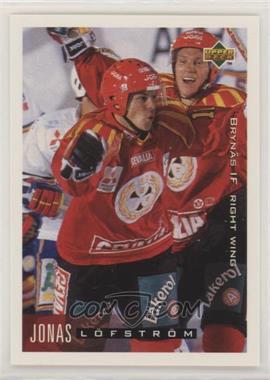 1995-96 Upper Deck Swedish - [Base] #28 - Jonas Lofstrom