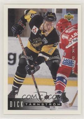 1995-96 Upper Deck Swedish - [Base] #3 - Dick Tarnstrom
