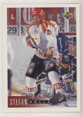 1995-96 Upper Deck Swedish - [Base] #31 - Stefan Polla