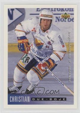 1995-96 Upper Deck Swedish - [Base] #39 - Christian Due-Boje