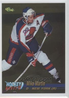 1995 Classic Draft - [Base] - Gold #9 - Mike Martin
