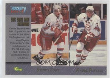1995 Classic Draft Base 95 Dan Cloutier Joe Thornton Steven
