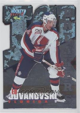 1995 Classic Draft - Ice Breakers - Die-Cut #BK 19 - Ed Jovanovski /495