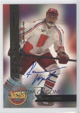 1995 Signature Rookies - [Base] - Signatures [Autographed] #2 - Roman Vopat /7750