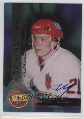1995 Signature Rookies - [Base] - Signatures [Autographed] #68 - Valentin Morozov /7750
