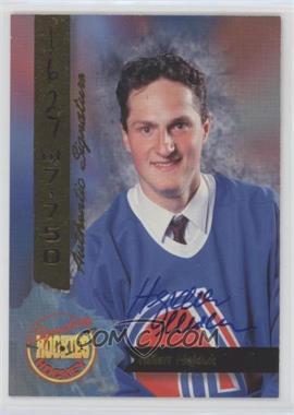 1995 Signature Rookies - [Base] - Signatures [Autographed] #69 - Milan Hejduk /7750