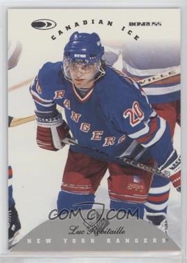 1996-97 Donruss Canadian Ice - [Base] #64 - Luc Robitaille