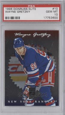 1996-97 Donruss Elite - [Base] #10 - Wayne Gretzky [PSA10]