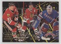 Chris Chelios, Jeremy Roenick, Mike Richter