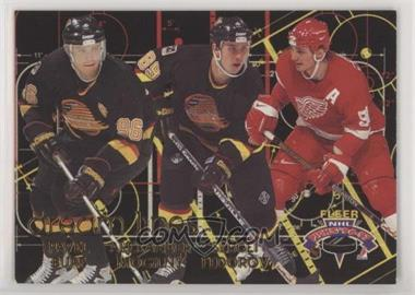 1996-97 Fleer NHL Picks - Dream Lines #4 - Pavel Bure, Alexander Mogilny, Sergei Fedorov