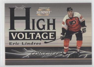 1996-97 Pinnacle Summit - High Voltage - Mirage #9 - Eric Lindros /600