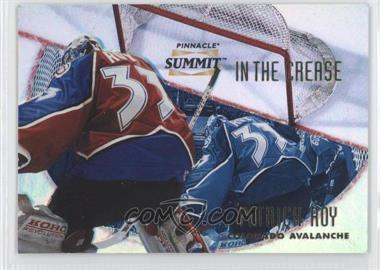 1996-97 Pinnacle Summit - in the Crease - Premium Stock #PSITC-1 - Patrick Roy /600