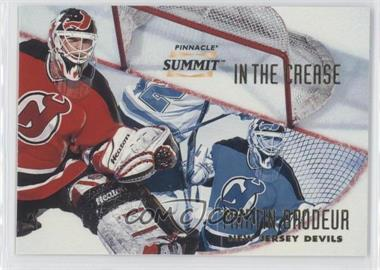 1996-97 Pinnacle Summit - in the Crease #8 - Martin Brodeur /6000
