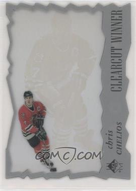 1996-97 SP - Clearcut Winner #CW18 - Chris Chelios [EX to NM]