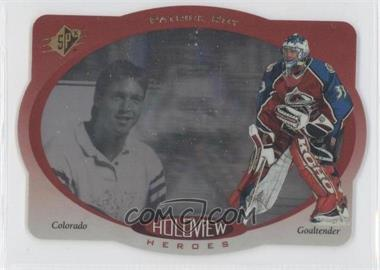 1996-97 SPx - Holoview Heroes #HH2 - Patrick Roy