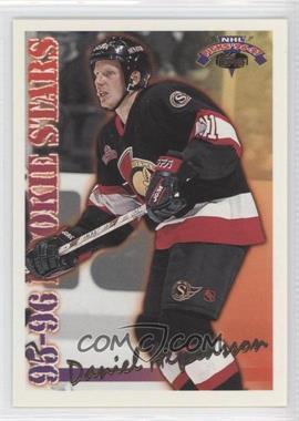 1996-97 Topps NHL Picks - Rookie Stars #RS1 - Daniel Alfredsson