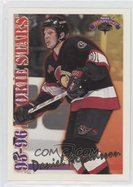 1996-97 Topps NHL Picks - Rookie Stars #RS1 - Daniel Alfredsson