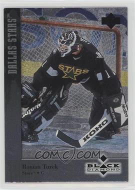 1996-97 Upper Deck Black Diamond - [Base] #1 - Roman Turek