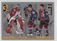 3 Star Selection - Patrick Roy, Peter Forsberg, Joe Sakic