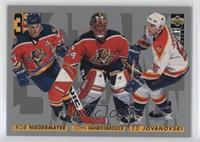 3 Star Selection - John Vanbiesbrouck, Rob Niedermayer, Ed Jovanovski