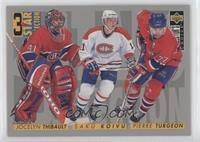 3 Star Selection - Jocelyn Thibault, Saku Koivu, Pierre Turgeon