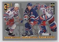 3 Star Selection - Adam Graves, Brian Leetch, Mike Richter