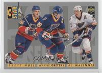 3 Star Selection - Wayne Gretzky, Brett Hull, Al MacInnis