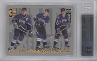 3 Star Selection - Wayne Gretzky, Joe Sakic, Teemu Selanne [BGS8.5N…