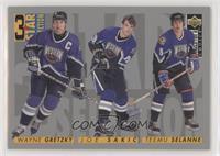3 Star Selection - Wayne Gretzky, Joe Sakic, Teemu Selanne