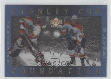1996-97 Upper Deck Ice - Stanley Cup Foundations #S3 - John Vanbiesbrouck, Ed Jovanovski
