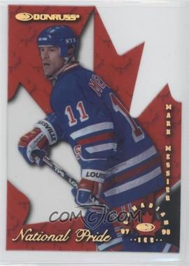 1997-98 Donruss Canadian Ice - National Pride Die-Cut #2 - Mark Messier /1997