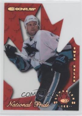 1997-98 Donruss Canadian Ice - National Pride Die-Cut #30 - Owen Nolan /1997